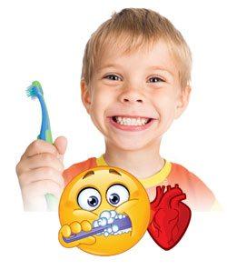 Happy Boy with Clean Teeth
